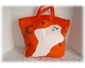 Halloween Canvas Trick or Treat Bag/Handmade*