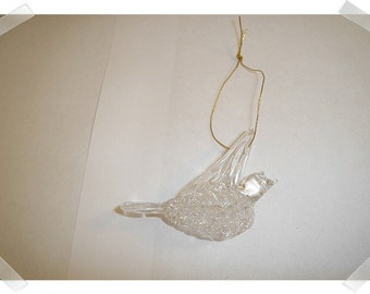 Glass Ornament/ Stars OR Bird/Craft Supplies**