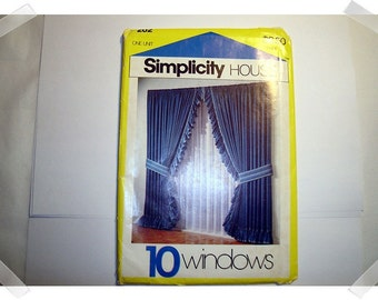 Simplicity House/10 Window Cards PATTERN/Craft Supplies*