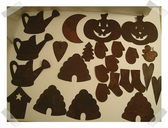 Assorted Lot/25 Rusty Embellishments/FREE SHIPPING