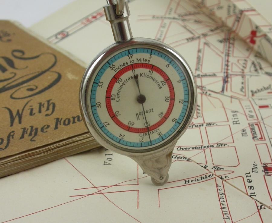 Hoffritz Map Distance Tool and Compass Made in Germany – Germany Map Distances