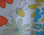 Butterflies ans Bees Fabric by Asher Studio