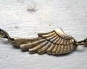 Viking Princess Wing Pendant