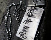 Language of the Heart Tags (2 Tags)