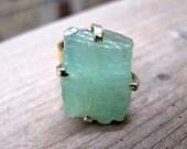 Raw Earth Aquamarine Ring (6)
