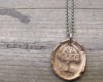 Most Beautiful Tree of Life Wax Seal Pendant