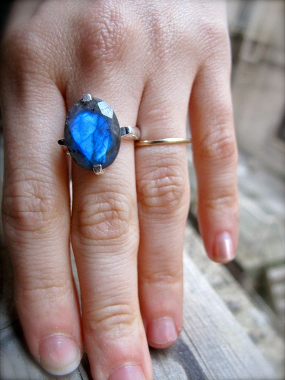 Labradorite Other Worlds Ring