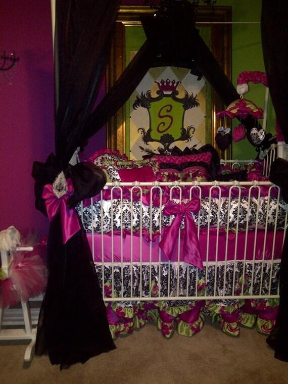 Sunday Morning Collection, 4pc crib set