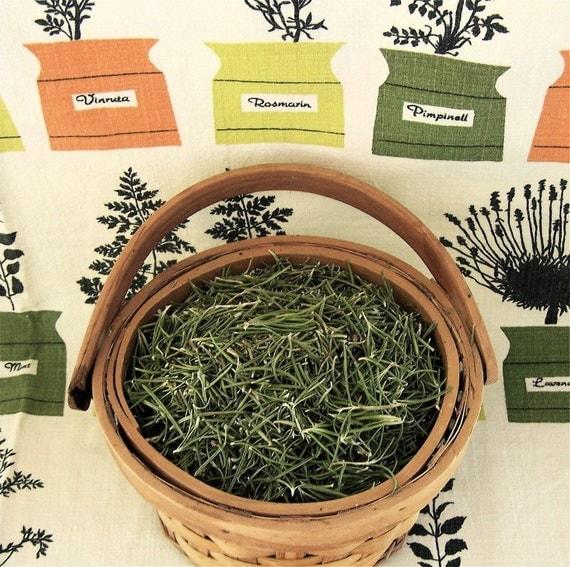 organic Spanish Rosemary Leaf premium dried 1/4 lb or 4 oz