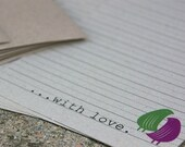 Hello With Love Stationary Set
