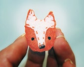 Woodland Fox Magnet