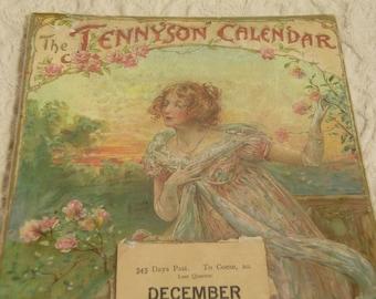 1898 Tennyson Calendar