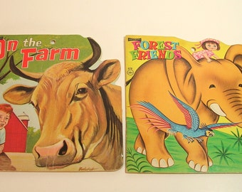 Farm And Forest Vintage Childrens Books