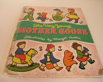 Vintage Mother Goose Book