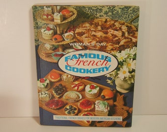 Woman's Day Famous French Cookery Vintage Book