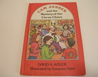Cam Jansen And The Mystery Of The Circus Clown Vintage Children's Book