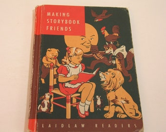 Making Storybook Friends Vintage Book