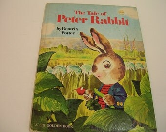 The Tale Of Peter Rabbit Big Golden Book 1973