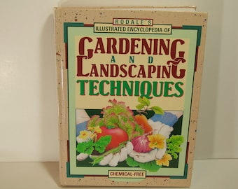Vintage Book Gardening And Landscaping Techniques