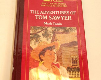 Vintage Tom Sawyer Book