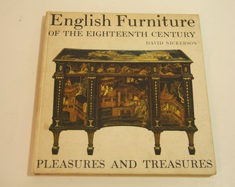 English Furniture Of The Eighteenth Century Vintage Book
