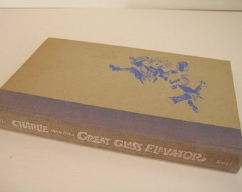 Charlie And The Great Glass Elevator Vintage Book