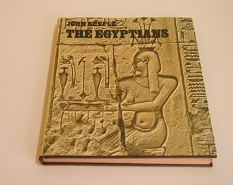 The Egyptians By John Ruffle Vintage Book