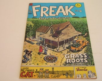 Freak Brothers 4 Vintage Comic From Rip Off Press
