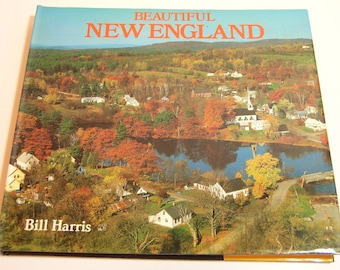 Beautiful New England Vintage Book