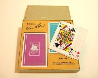 Vintage Boxed Bridge Playing Card Set