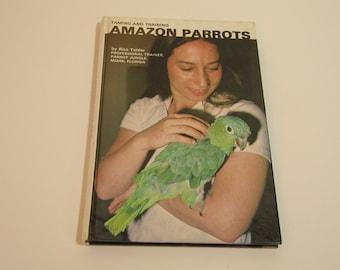 Amazon Parrots Vintage Book