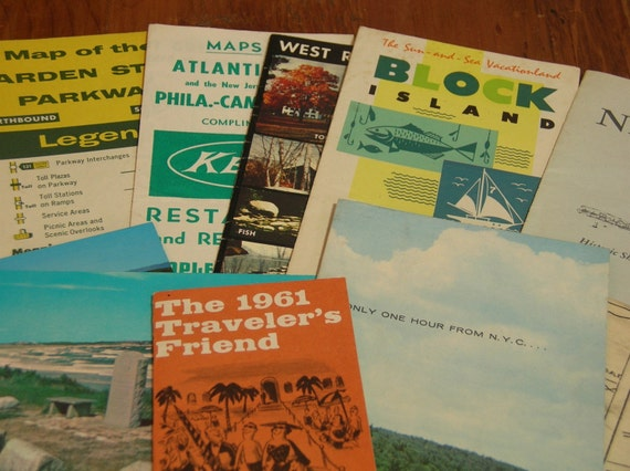 Reserved For Bealineseagal Vintage Travel Brochures Maps Etc. 1960's