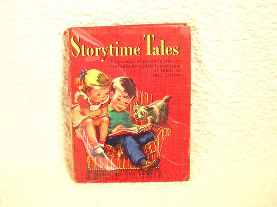 Storytime Tales Vintage  Big Golden Book