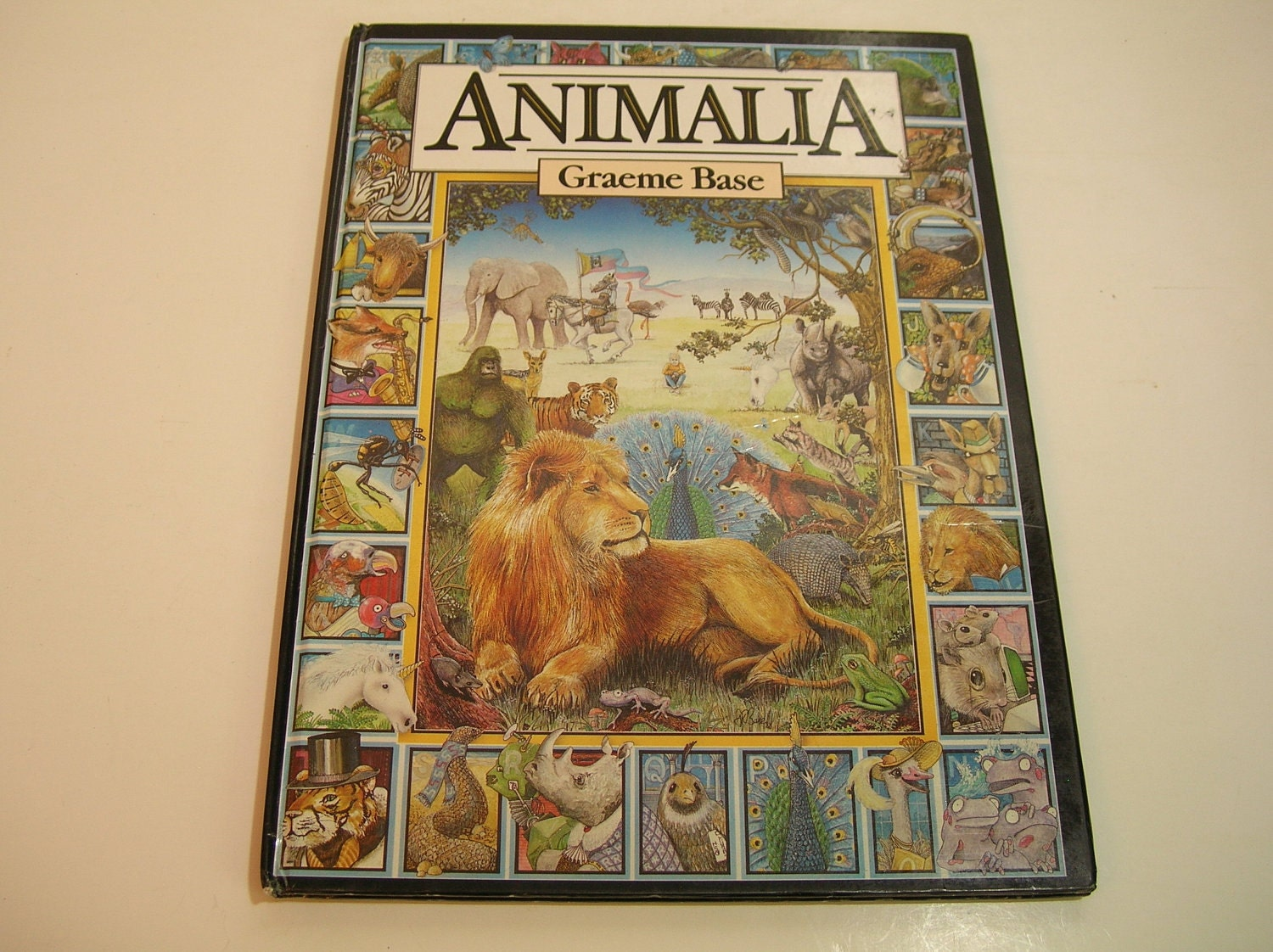 Graeme Base S Animalia Vintage Book