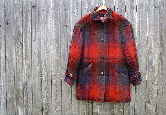 100% Virgin Wool Vintage Pendelton Coat