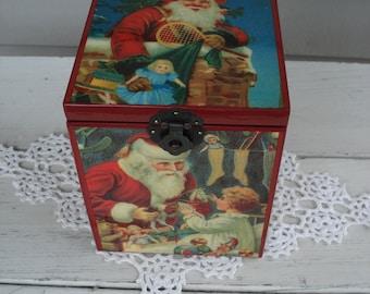 Vintage St. Nicholas Circa 1909 Music Box Limited Edition Cantique de Noel