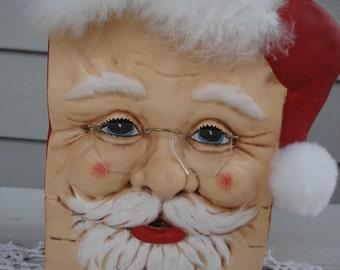 Santa Bag Ceramic Vase Holiday Home Decor Christmas Xmas