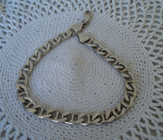 Vintage 925 Sterling Silver Bracelet Made in Italy