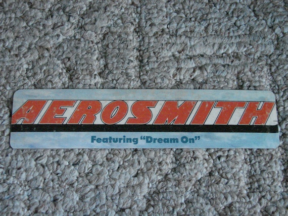 Aerosmith Bookmark