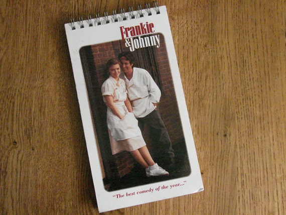 "Al Pacino/ Michelle Pfeiffer ""Frankie & Johnny"" VHS Notepad"