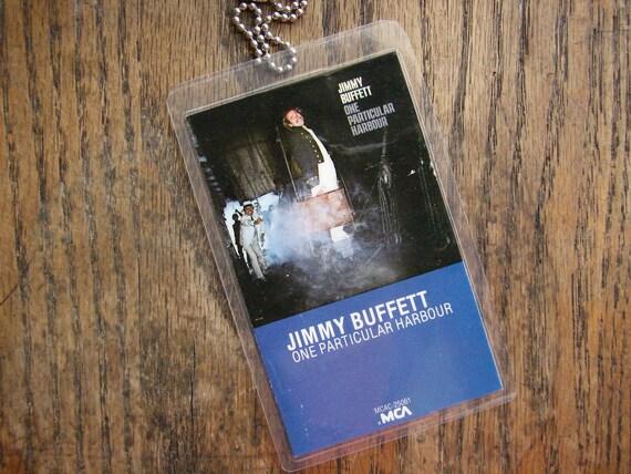 Jimmy Buffett Cassette Keychain/Luggage Tag