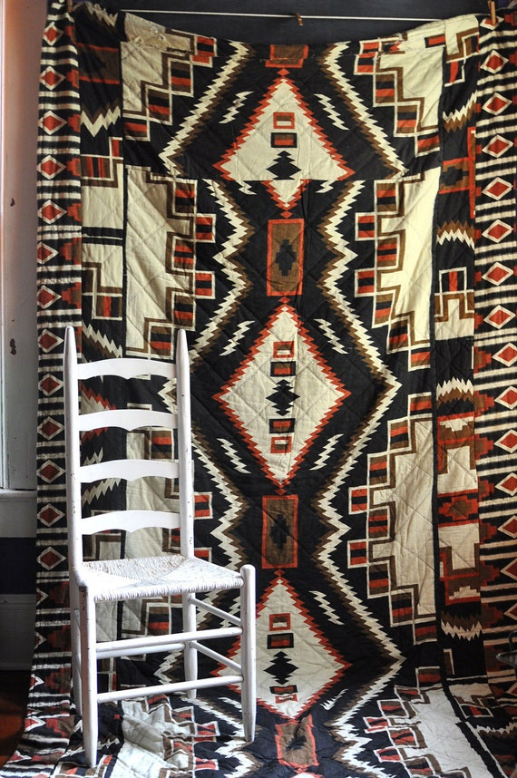 Vintage Southwest Style Bed spread