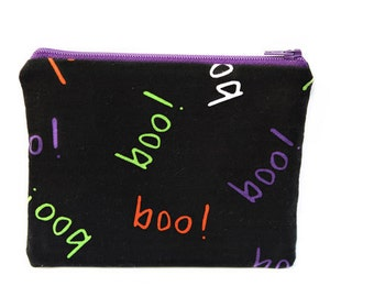 BOO - Small zip pouch