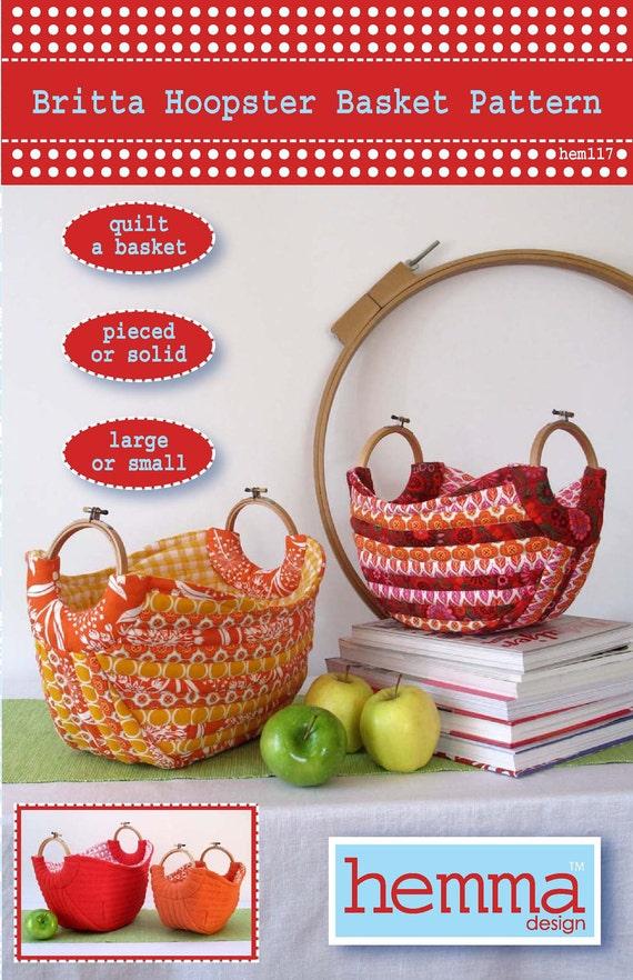 Britta Hoopster Basket Pattern
