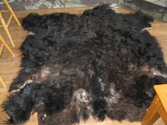 Yak Tanned Hair on Hide Rug