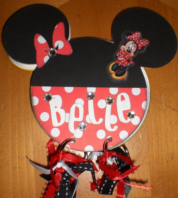 Minnie Mouse Autograph Book by TreasuresMommy on Etsy