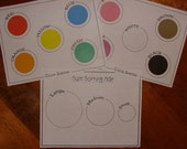 Color and Size Sorting Mats