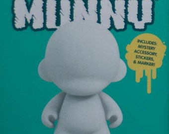 """Custom 4"""" Mini Munny Figure - made in the likeness of any celebrity, musician, TV character"""