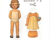 Oliver S Tea Party Sundress Pattern  0-3 Months TO 18-24Months
