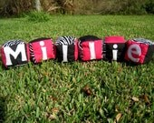 Personalized Soft Baby Blocks -custom theme or colors